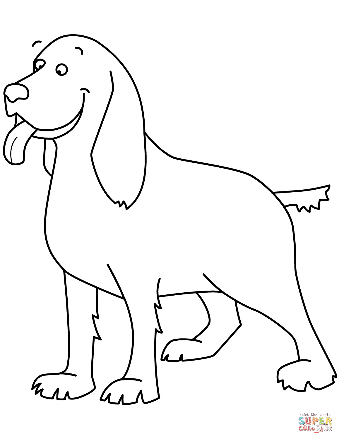 Beagle Dog Coloring Pages At Getcolorings