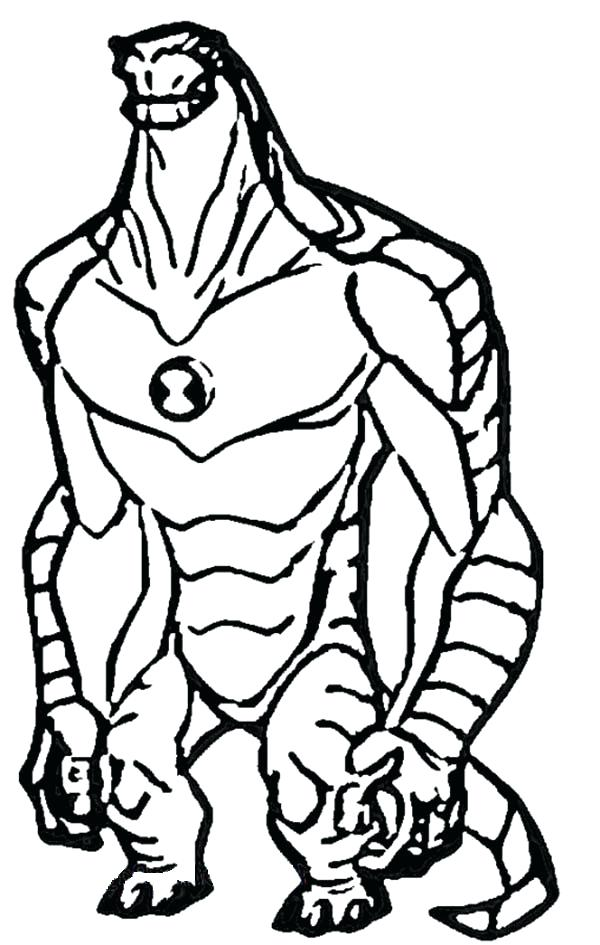 Ben 10 Alien Force Coloring Pages at GetColorings.com