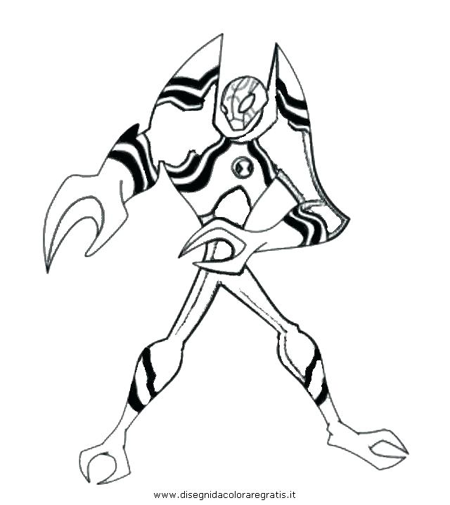 Ben Ten Omniverse Coloring Pages at GetColorings.com