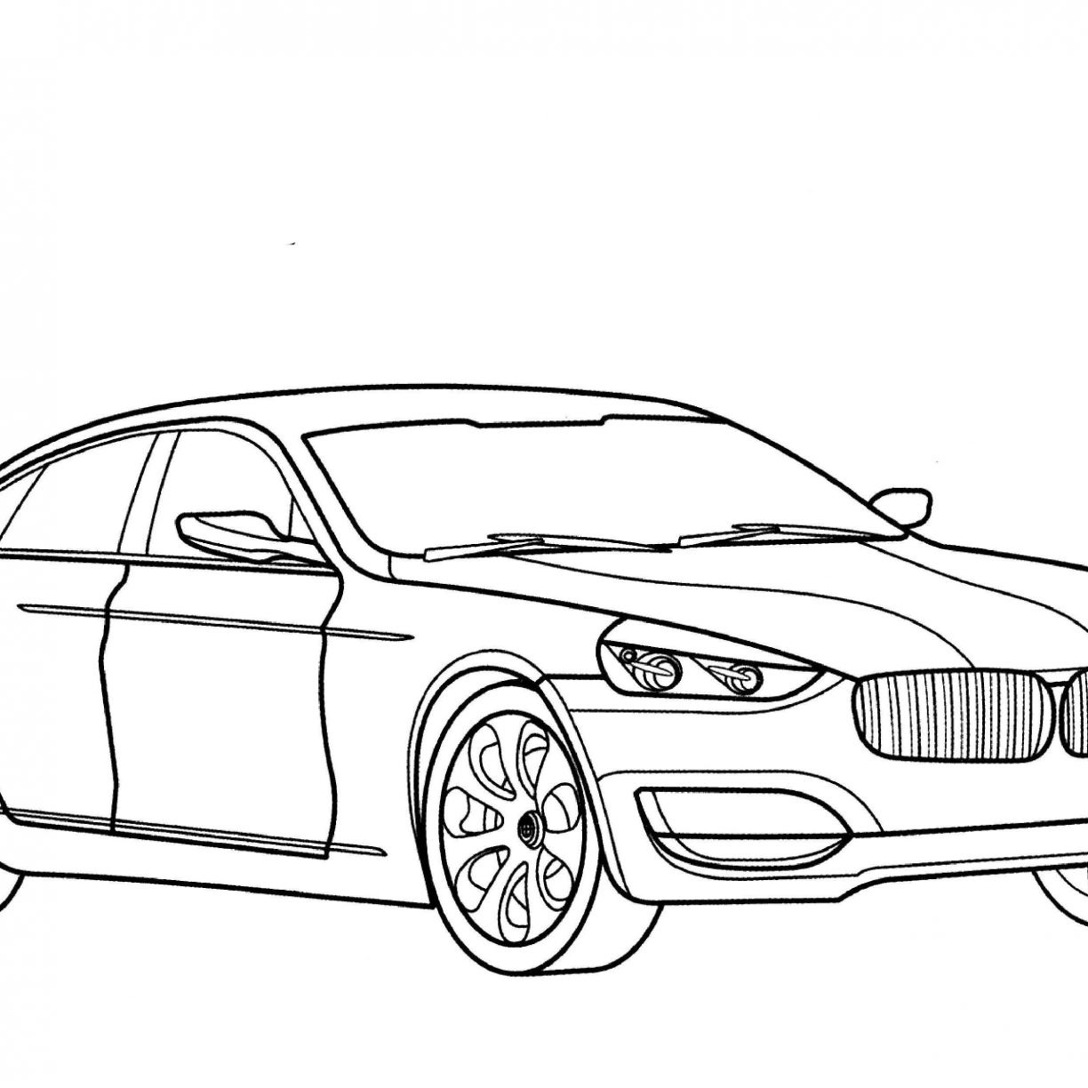 Bmw Coloring Pages At Getcolorings