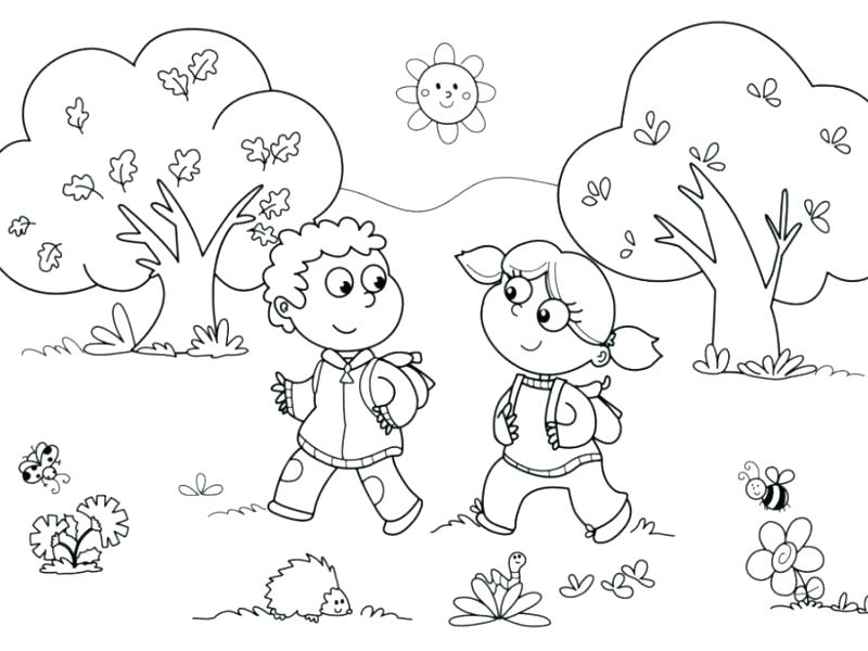 Body Coloring Pages For Preschoolers at GetColorings.com