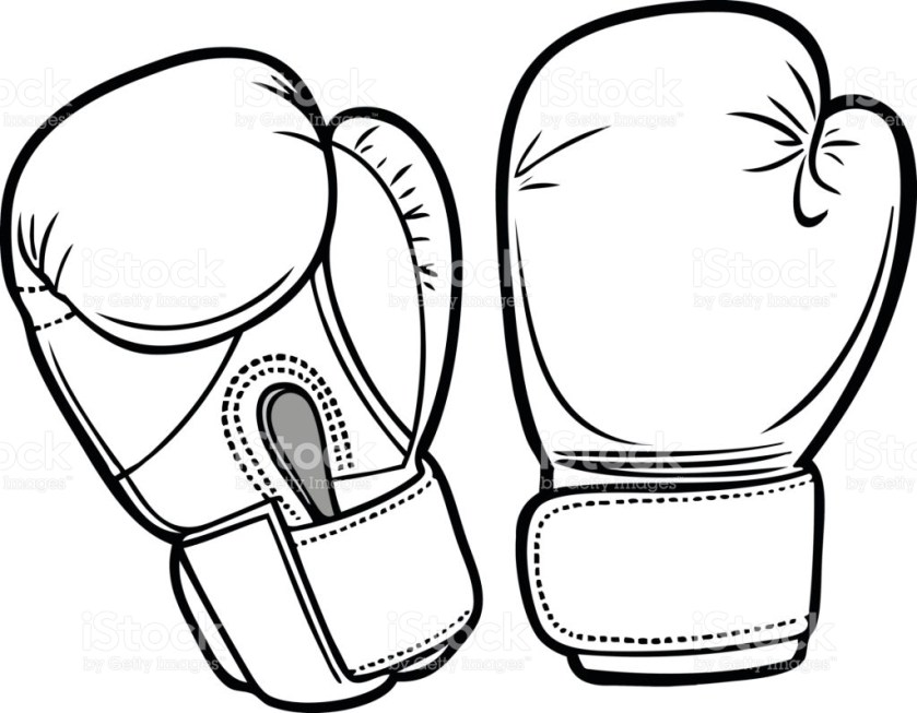 boxing gloves coloring pages at getcolorings  free
