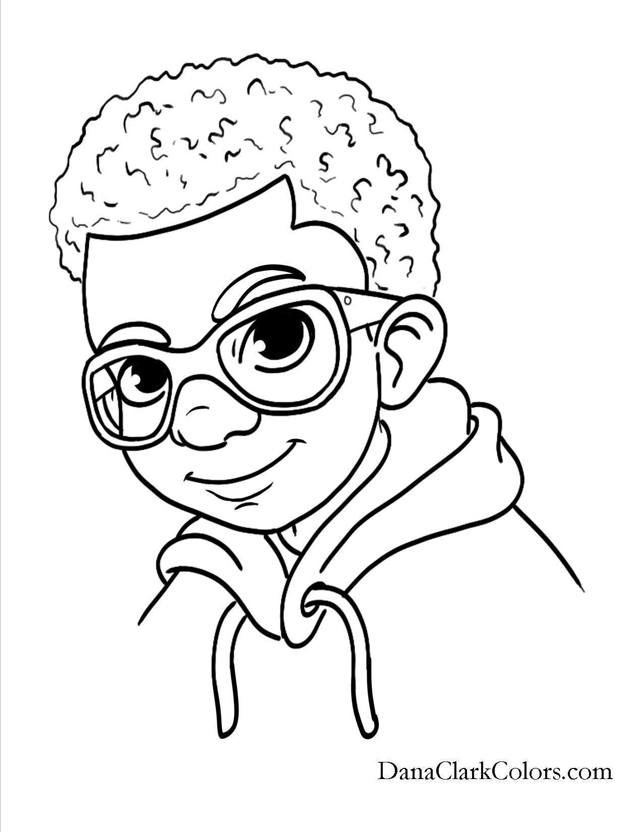 Boy Valentines Day Coloring Pages At Getcolorings