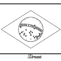 Brazil Flag Coloring Page at GetColorings.com   Free ...