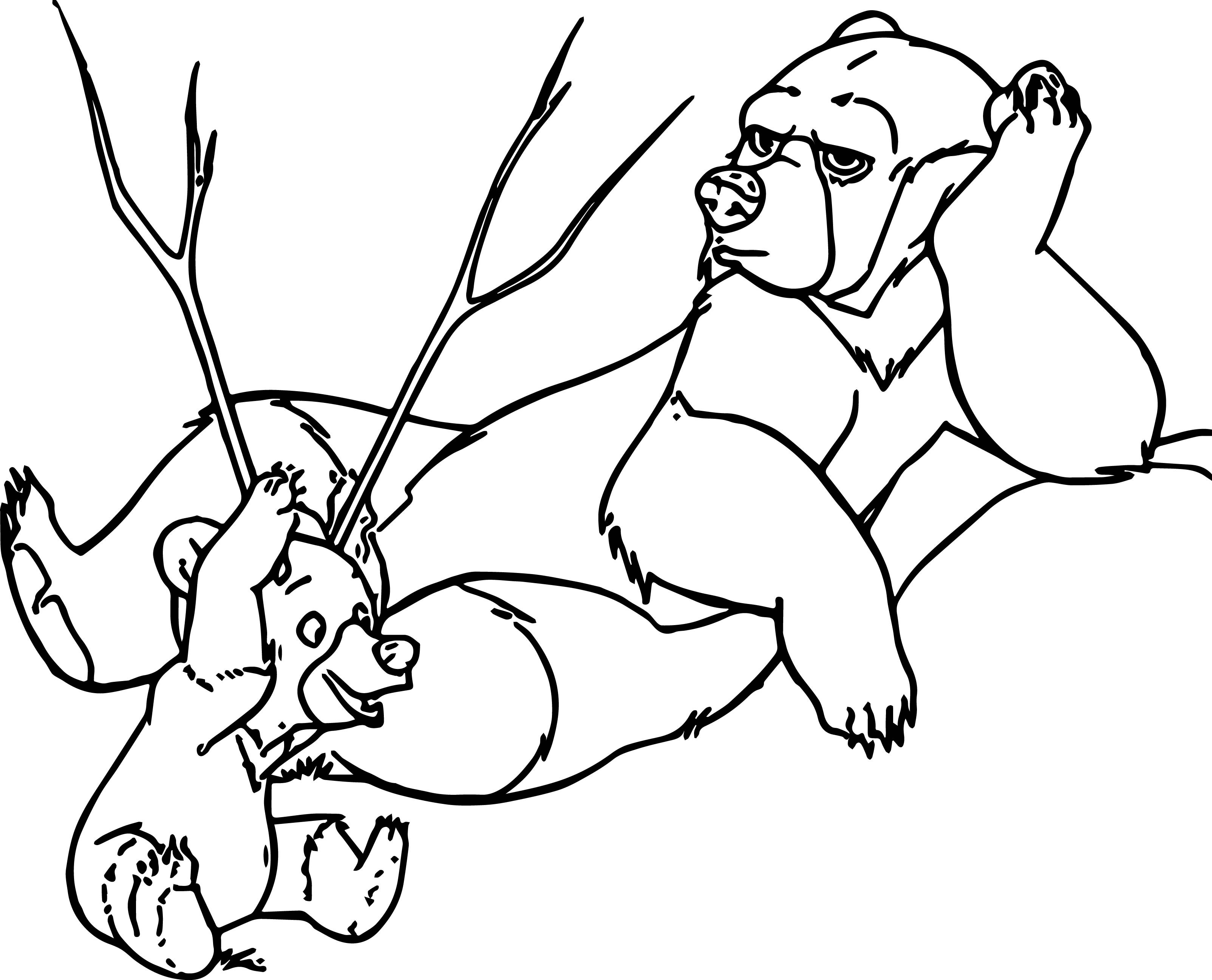 Brother Bear Coloring Pages At Getcolorings