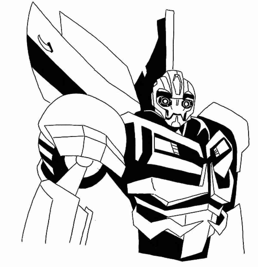 Bumblebee Transformer Coloring Page at GetColorings