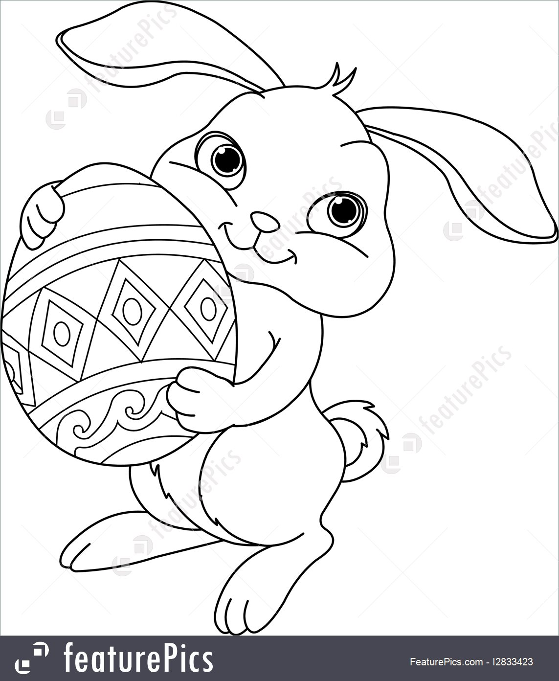 Bunny Head Coloring Pages At Getcolorings