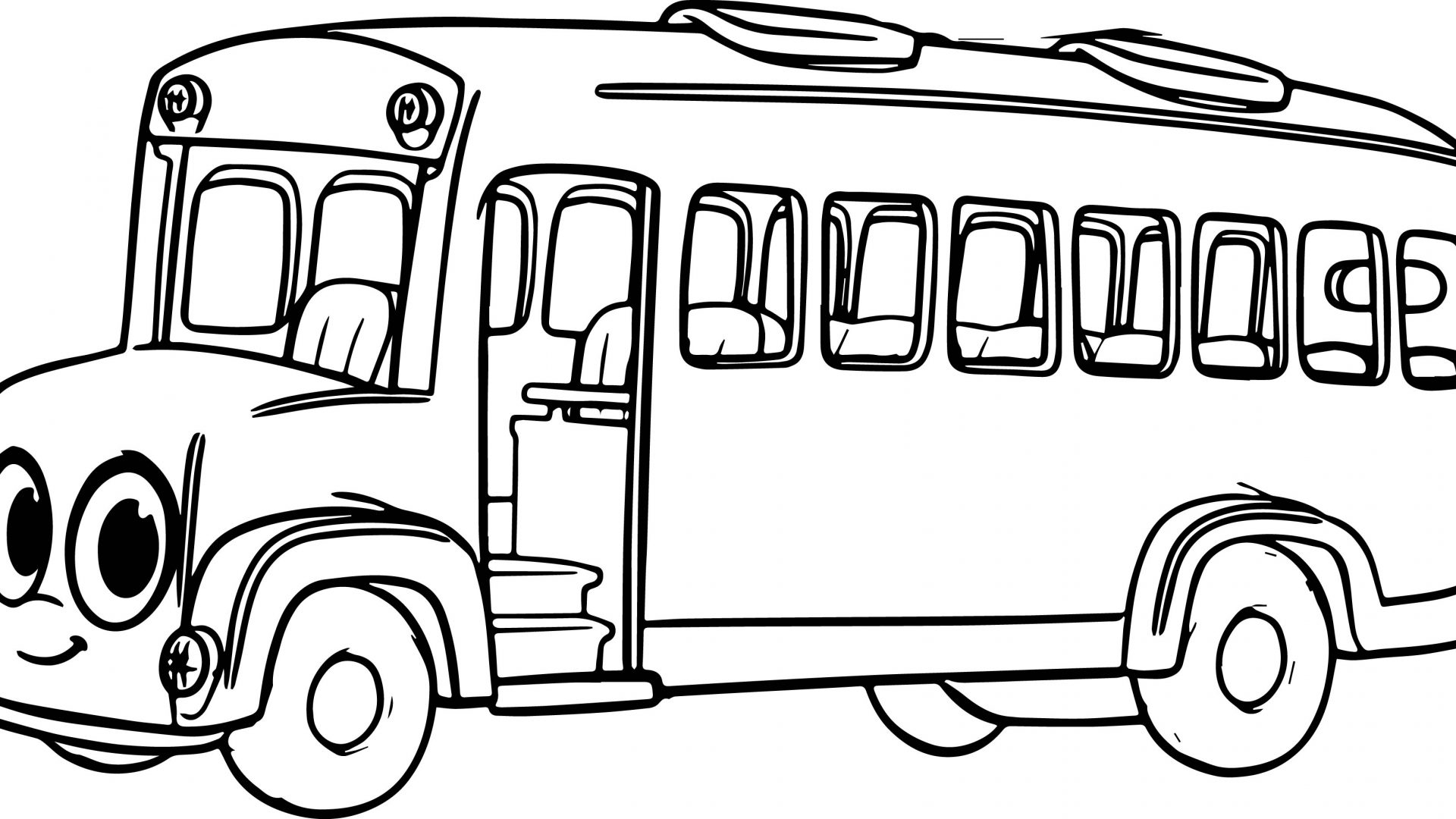 Bus Driver Coloring Pages At Getcolorings