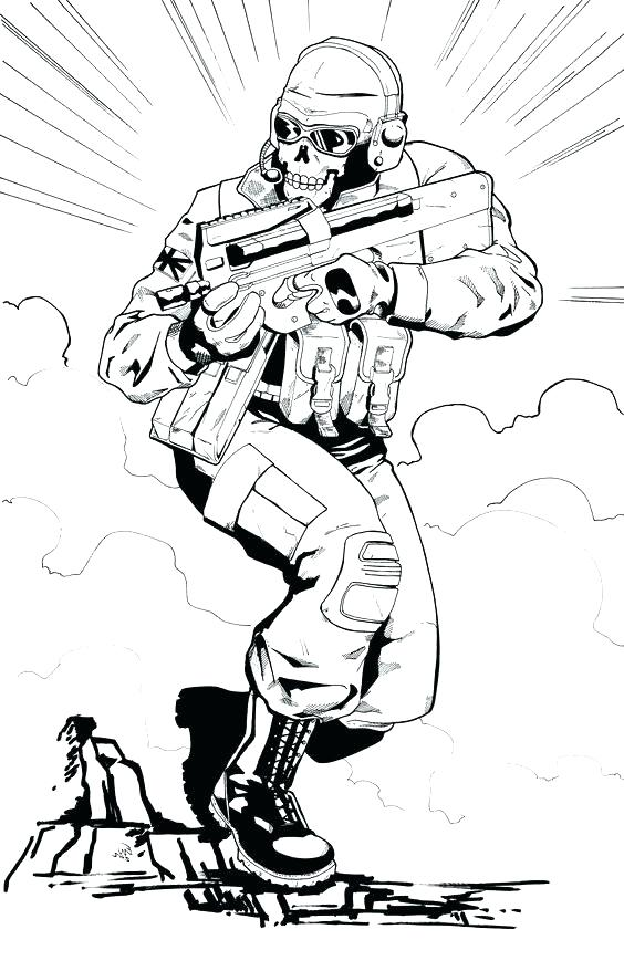 Call Of Duty Coloring Pages To Print at GetColorings.com