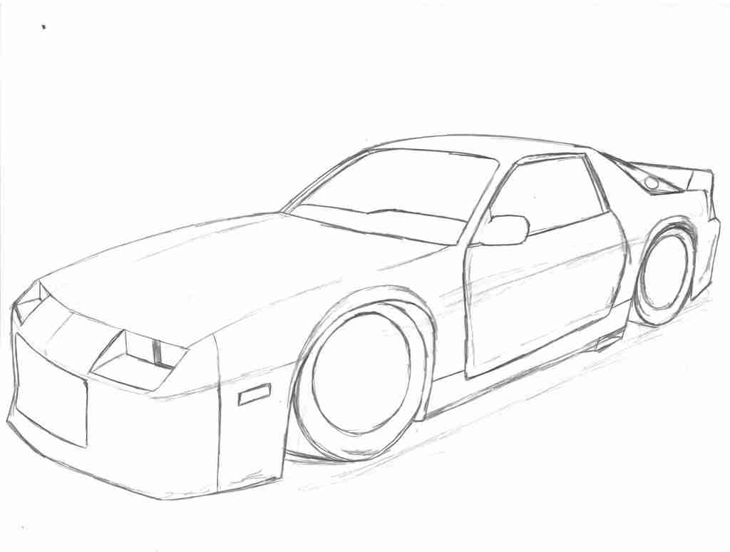 Camaro Coloring Pages At Getcolorings