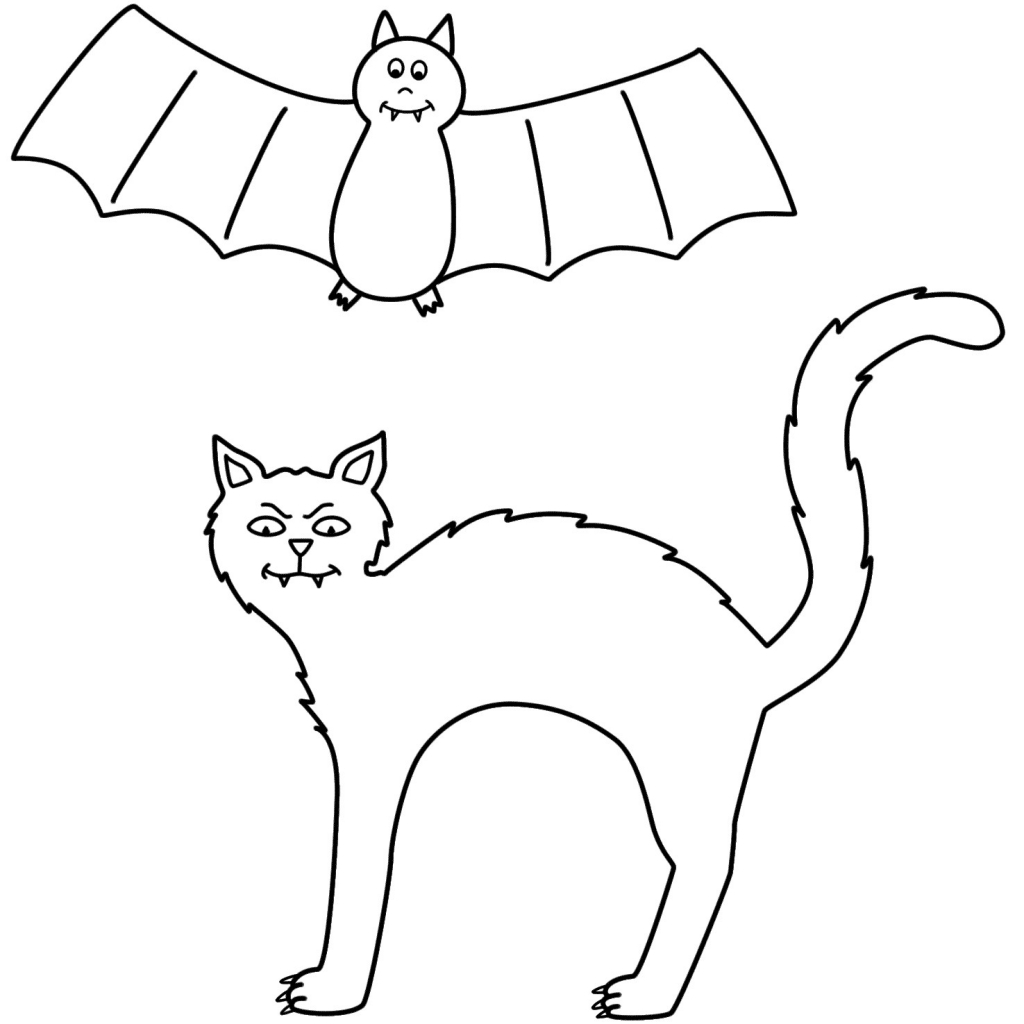 Cat Coloring Pages For Preschoolers At Getcolorings