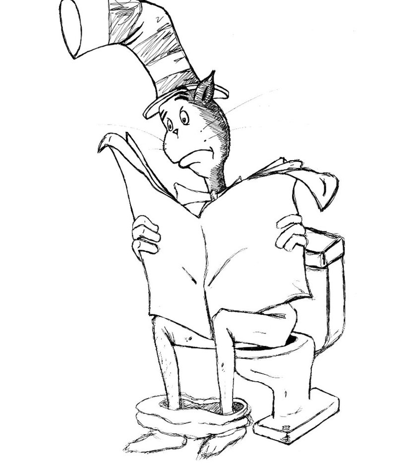 Cat In The Hat Coloring Pages Pdf at GetColorings.com