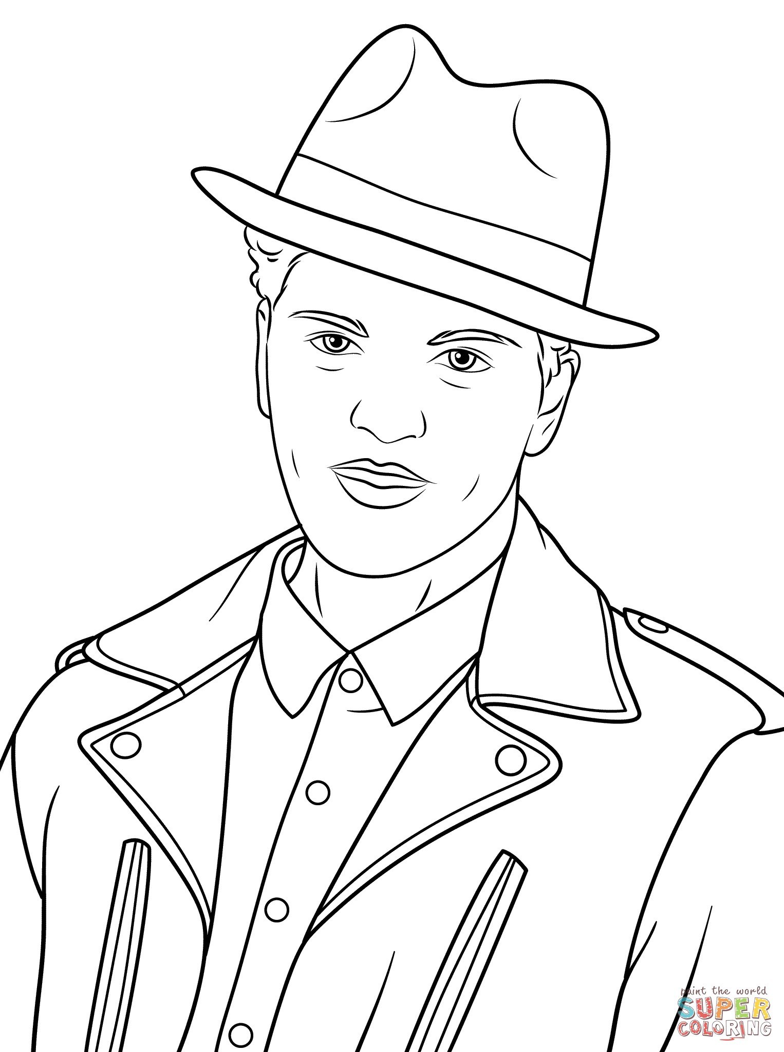 Cesar Chavez Coloring Page At Getcolorings