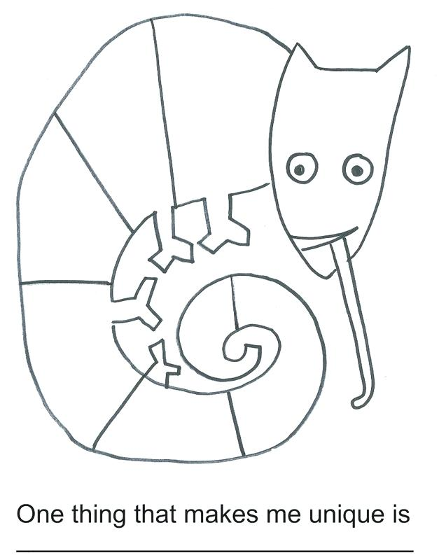 Chameleon Coloring Pages To Print at GetColorings.com