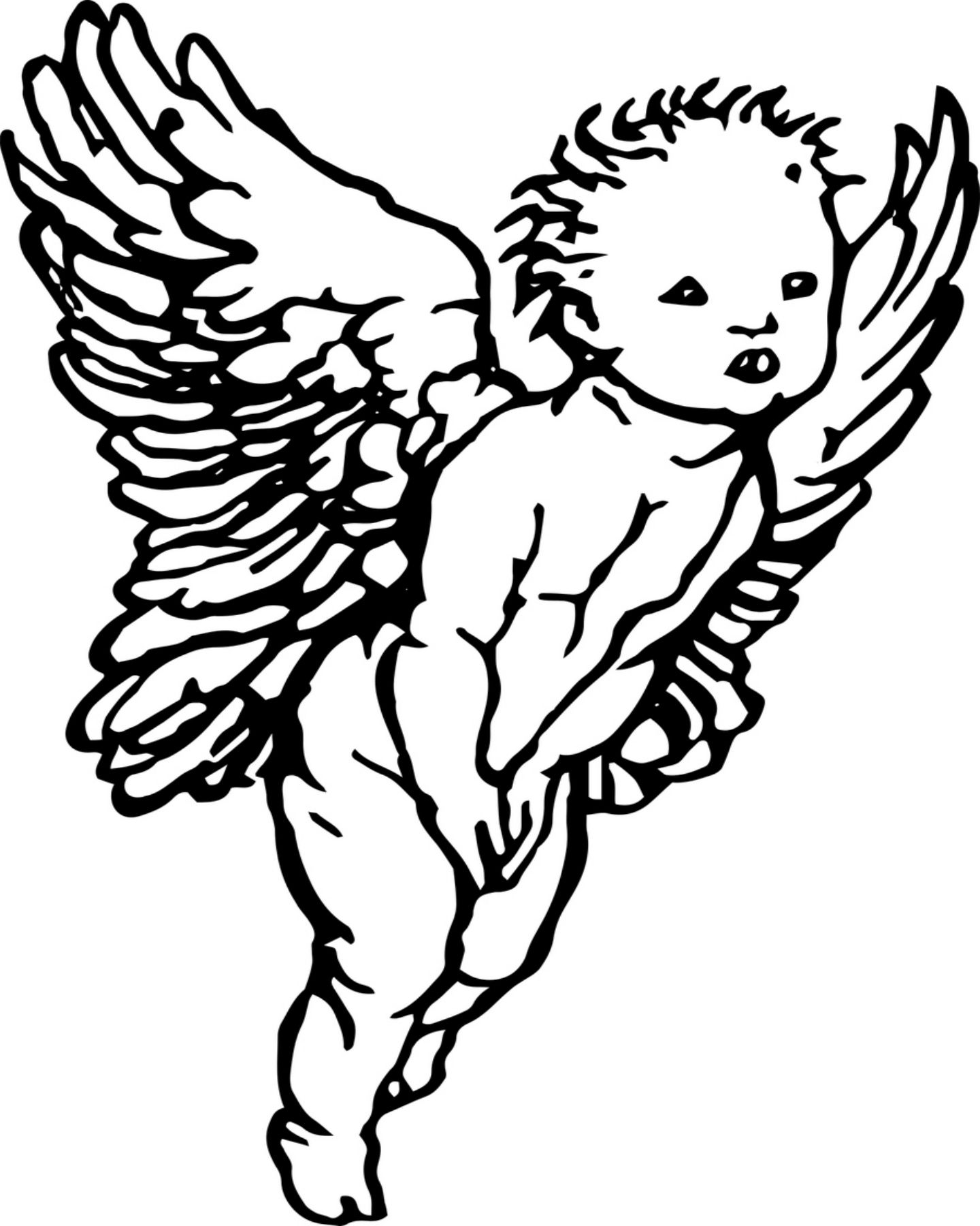 Cherub Coloring Pages At Getcolorings