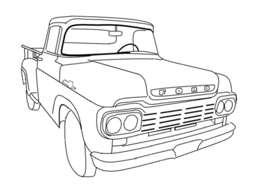 chevy silverado coloring pages at getcolorings  free
