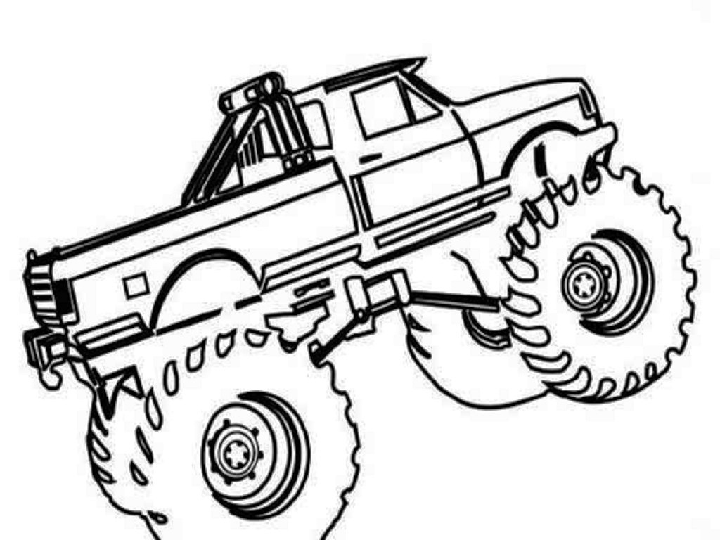 Chevy Truck Coloring Pages At Getcolorings