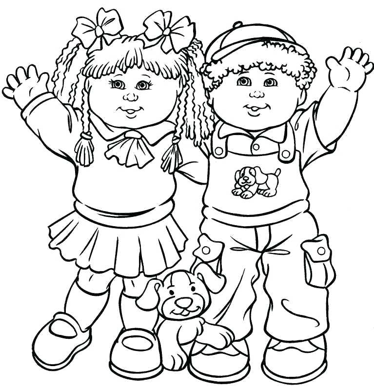 Children Helping Others Coloring Pages at GetColorings.com