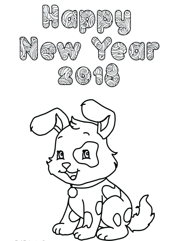 Christian New Year Coloring Pages at GetColorings.com