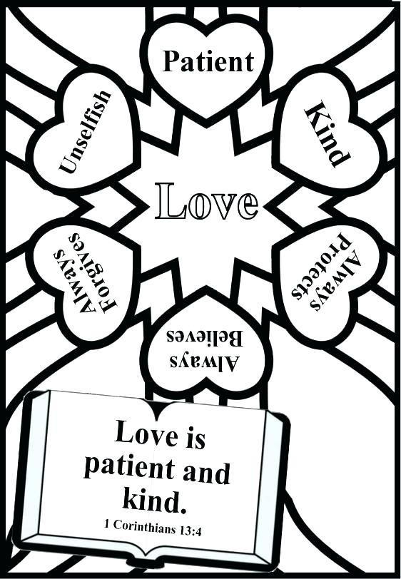 Christian Valentine Coloring Pages at GetColorings.com