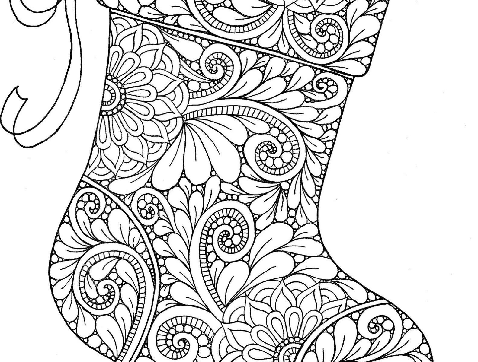 Christmas Fireplace Coloring Page At Getcolorings