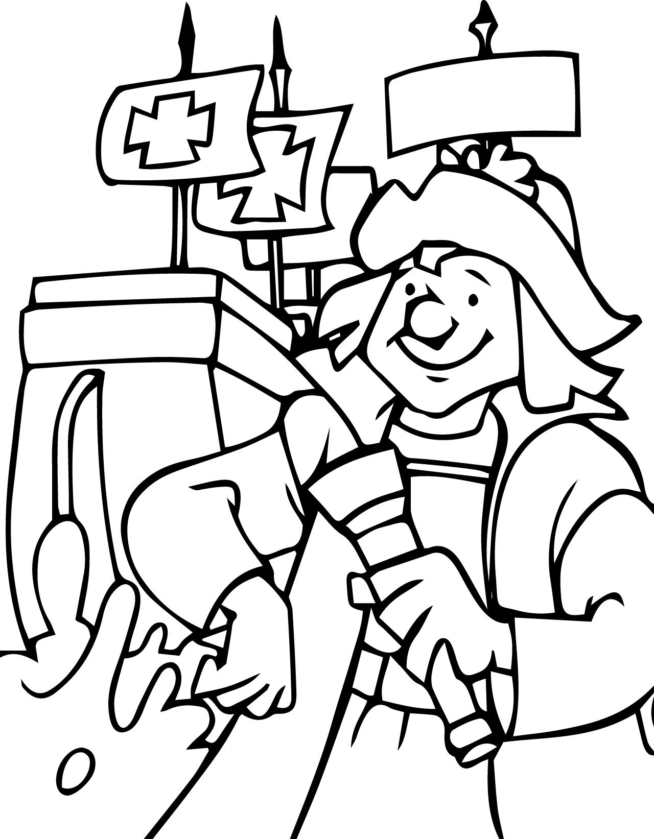 Christopher Columbus Coloring Pages Printable At