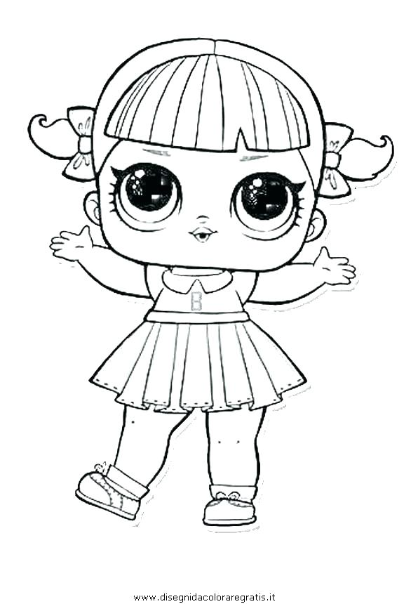 Flower Child Series 3 LOL Surprise Doll Coloring Page Paper