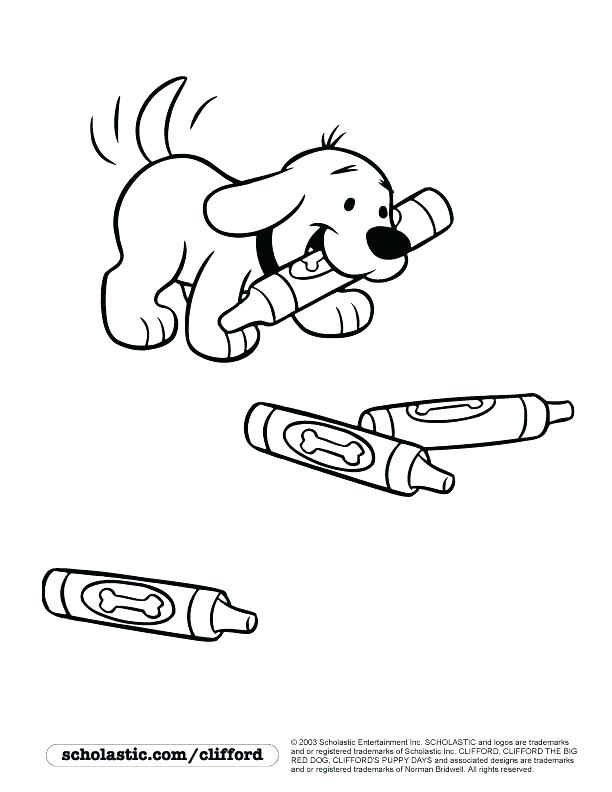 Clifford Puppy Days Coloring Pages at GetColorings.com