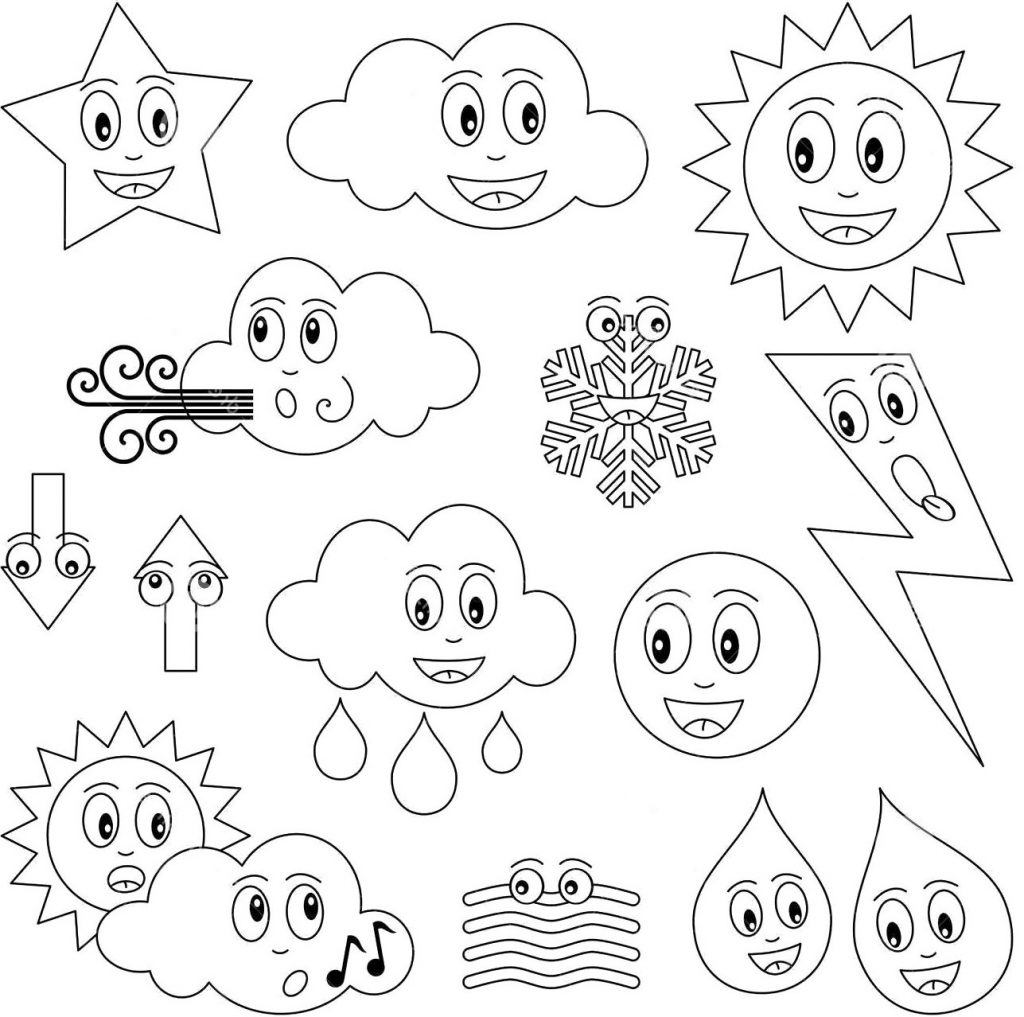 Cold Weather Coloring Pages At Getcolorings