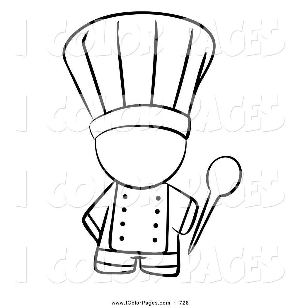 Coloring Page Chef At Getcolorings
