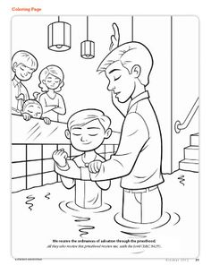 Coloring Pages For Lds Primary Lessons at GetColorings.com