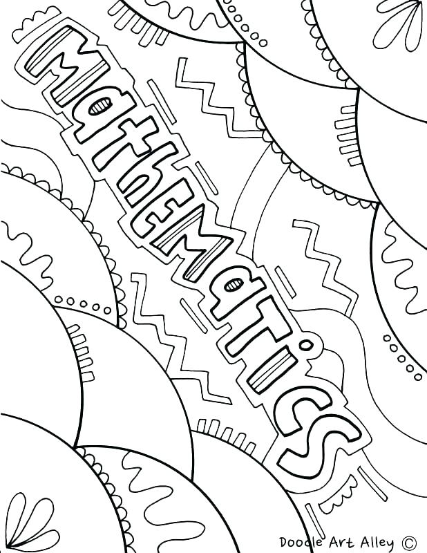 Coloring Pages For Middle Schoolers at GetColorings.com