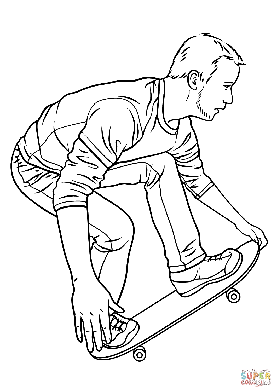Coloring Pages Hawk At Getcolorings