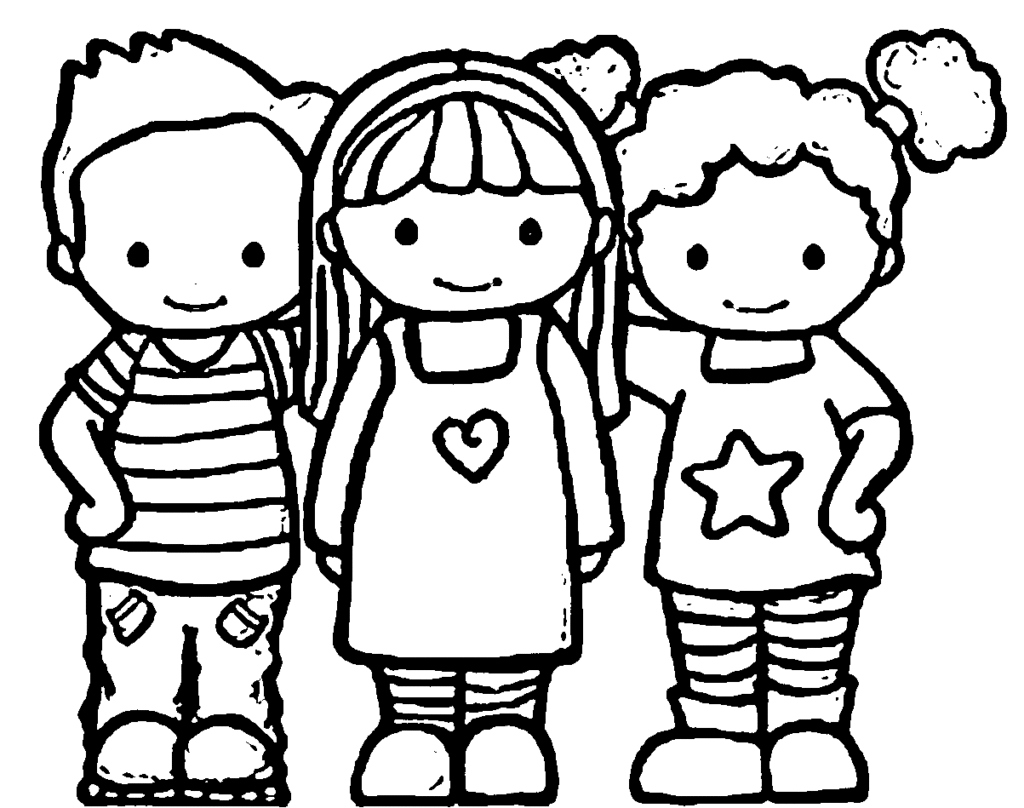 Coloring Pages Of Best Friends Forever At Getcolorings