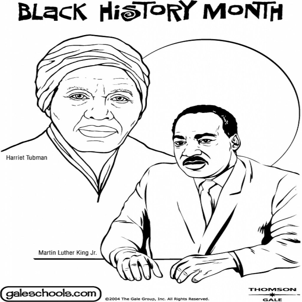 Coloring Pages Of Black History Month At Getcolorings