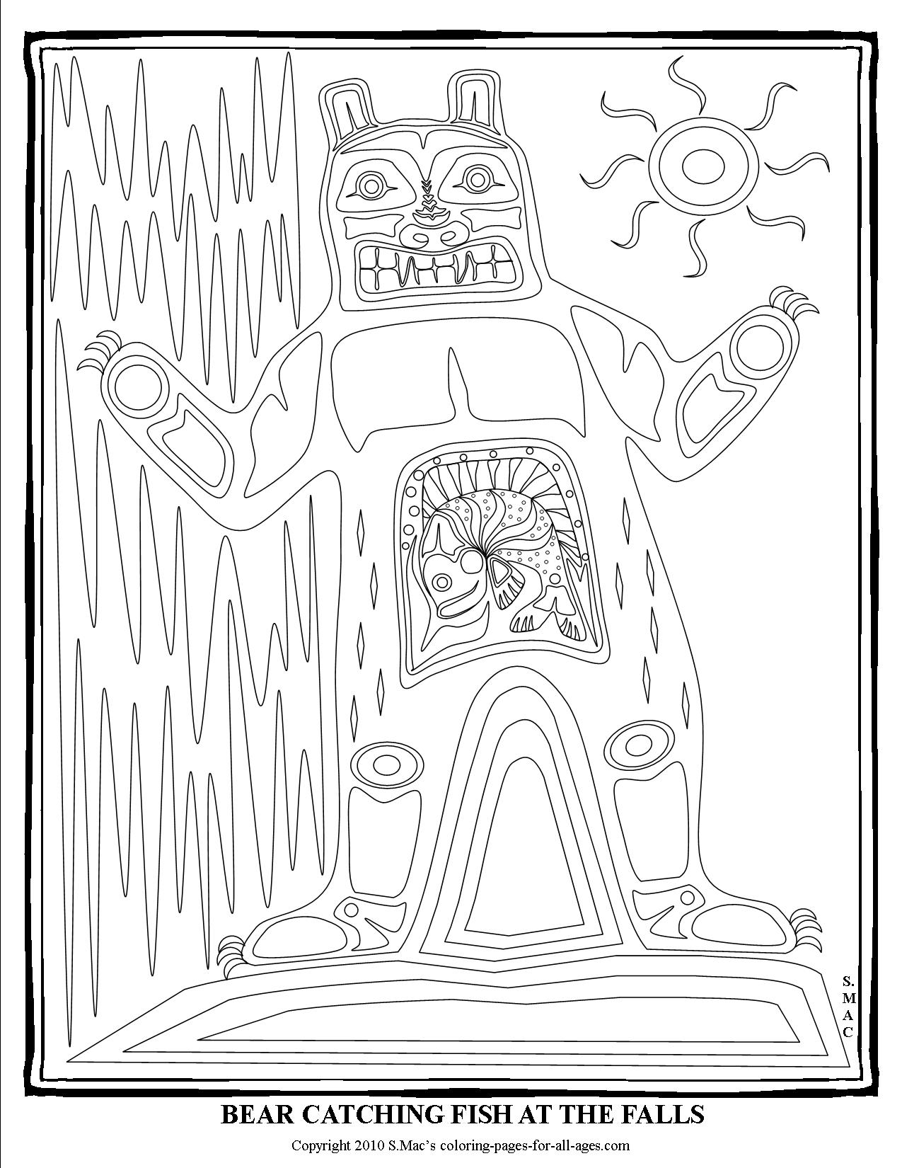 Coloring Pages Of Native American Tribes At Getcolorings