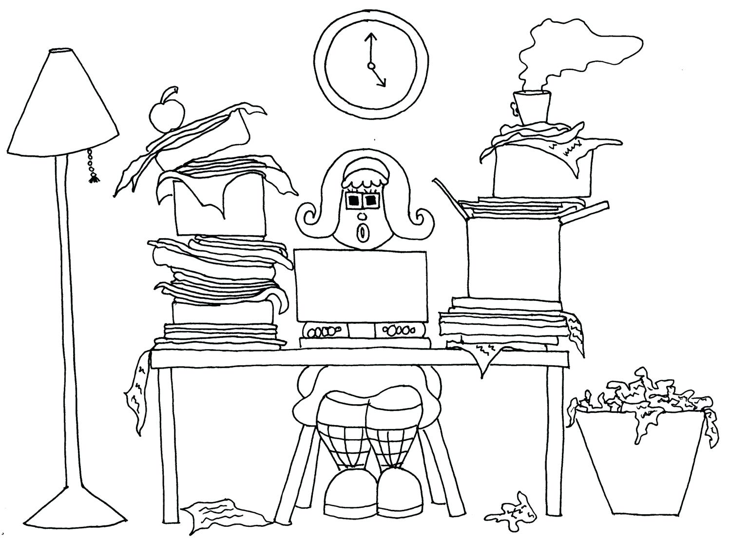 Computer Keyboard Coloring Page At Getcolorings