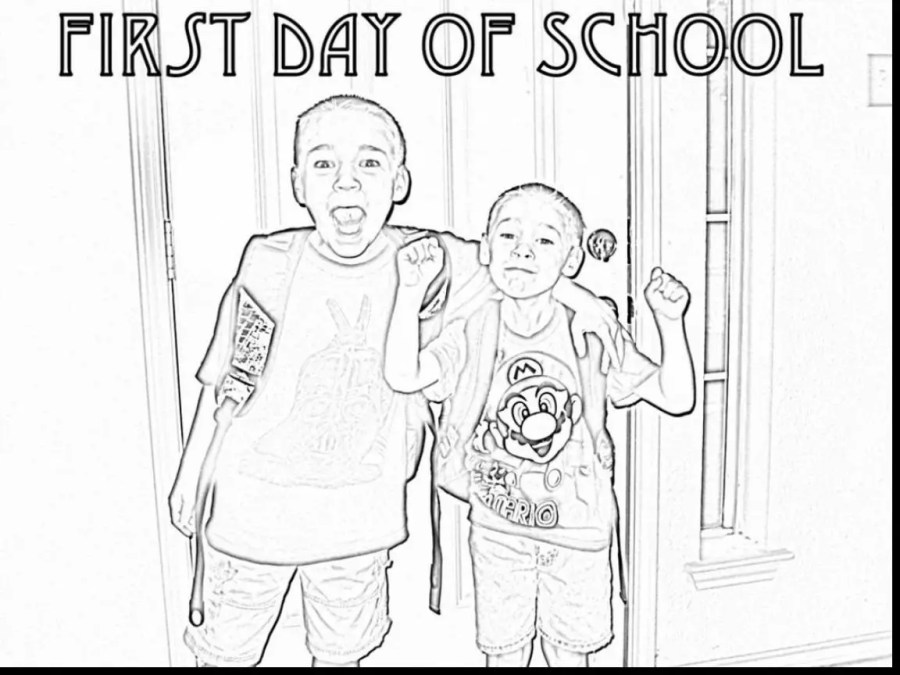 Convert Picture Into Coloring Page at GetColorings.com ...