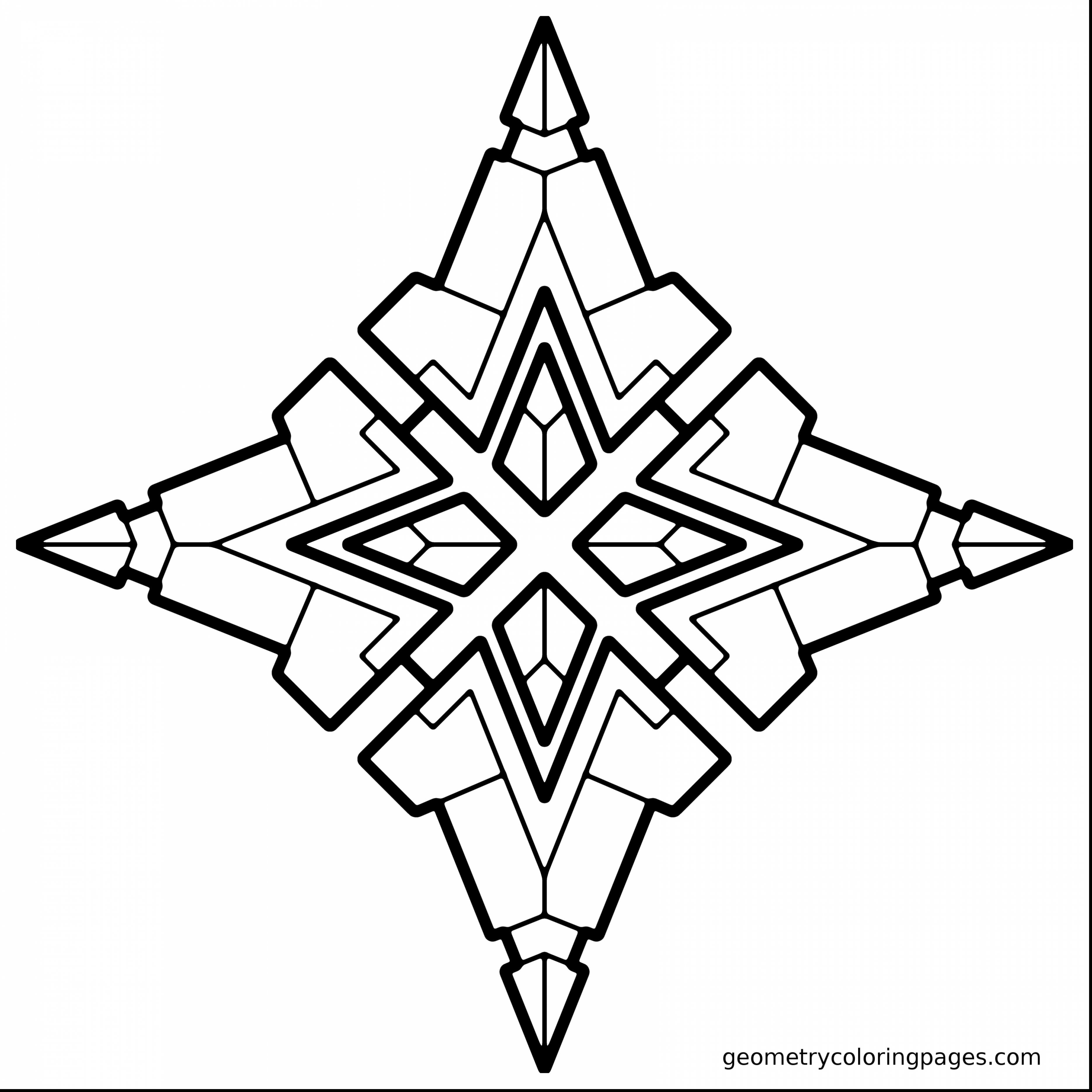 3d Geometric Coloring Pages At Getcolorings