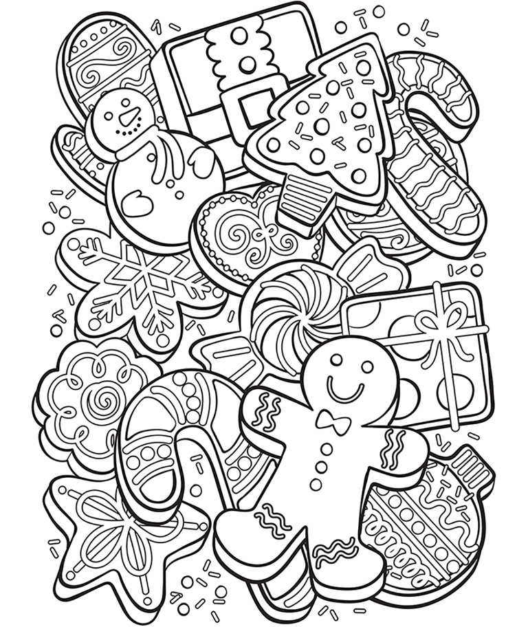 Crayola Christmas Coloring Pages at GetColorings.com | Free printable colorings pages to print and color