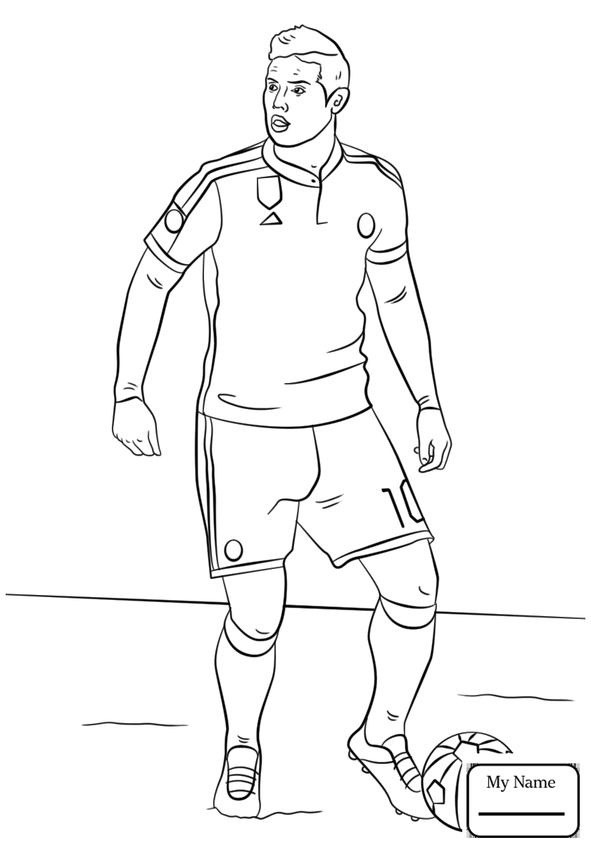 cristiano ronaldo coloring pages at getcolorings