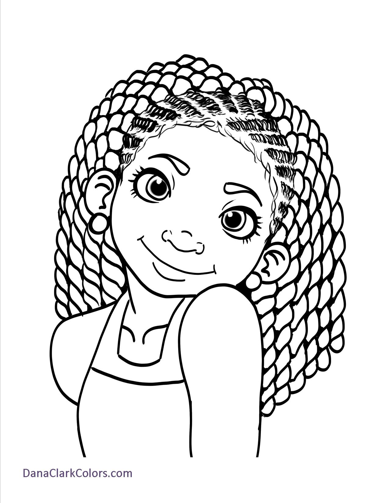 Curly Hair Coloring Pages At Getcolorings