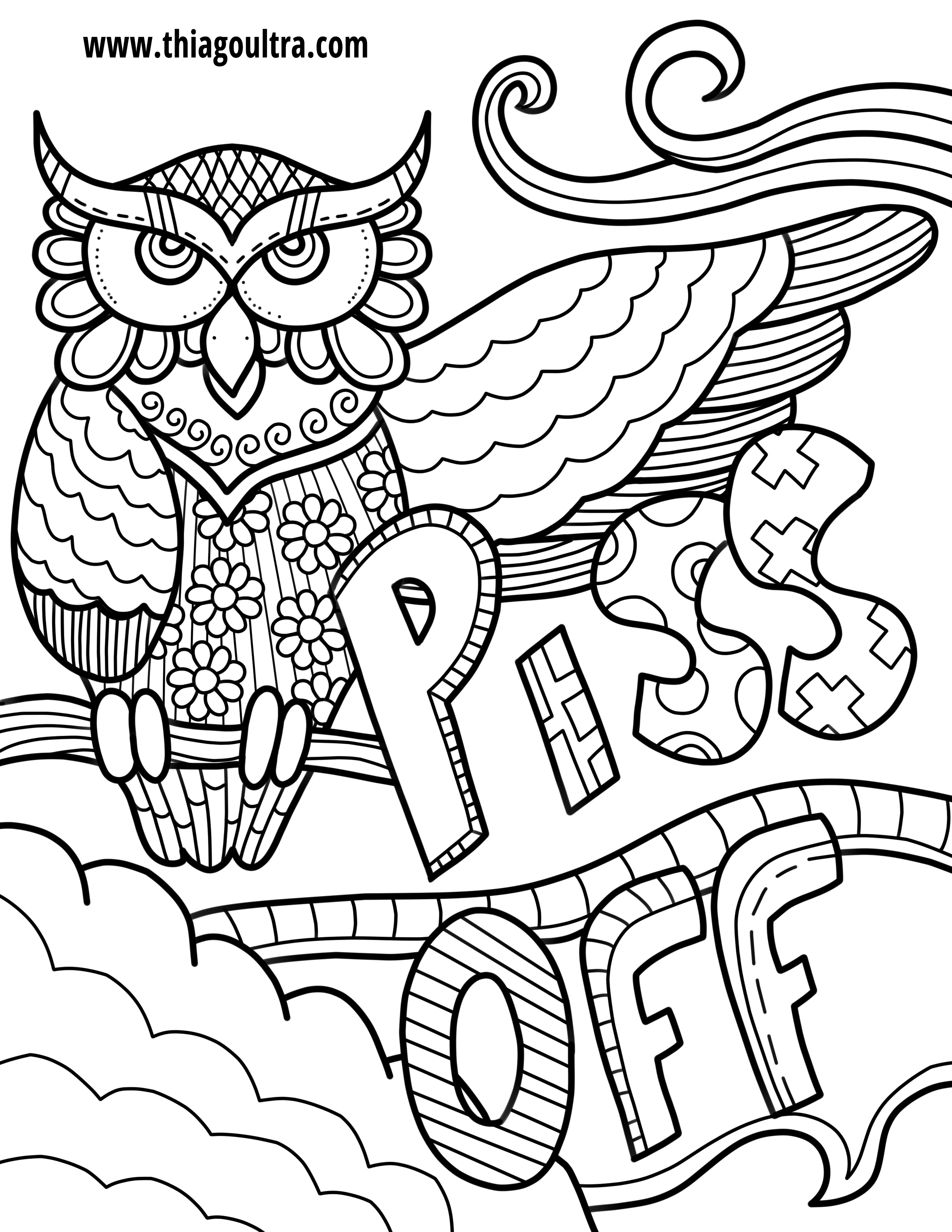 Curse Word Coloring Pages At Getcolorings