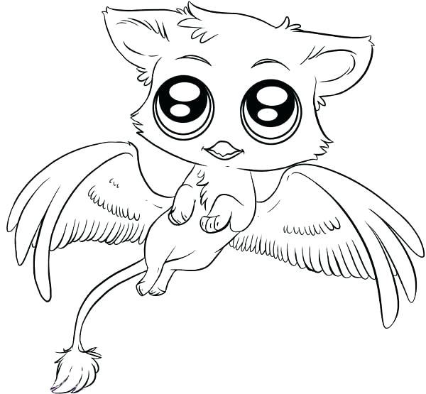 Cute Anime Animals Coloring Pages - Novocom.top