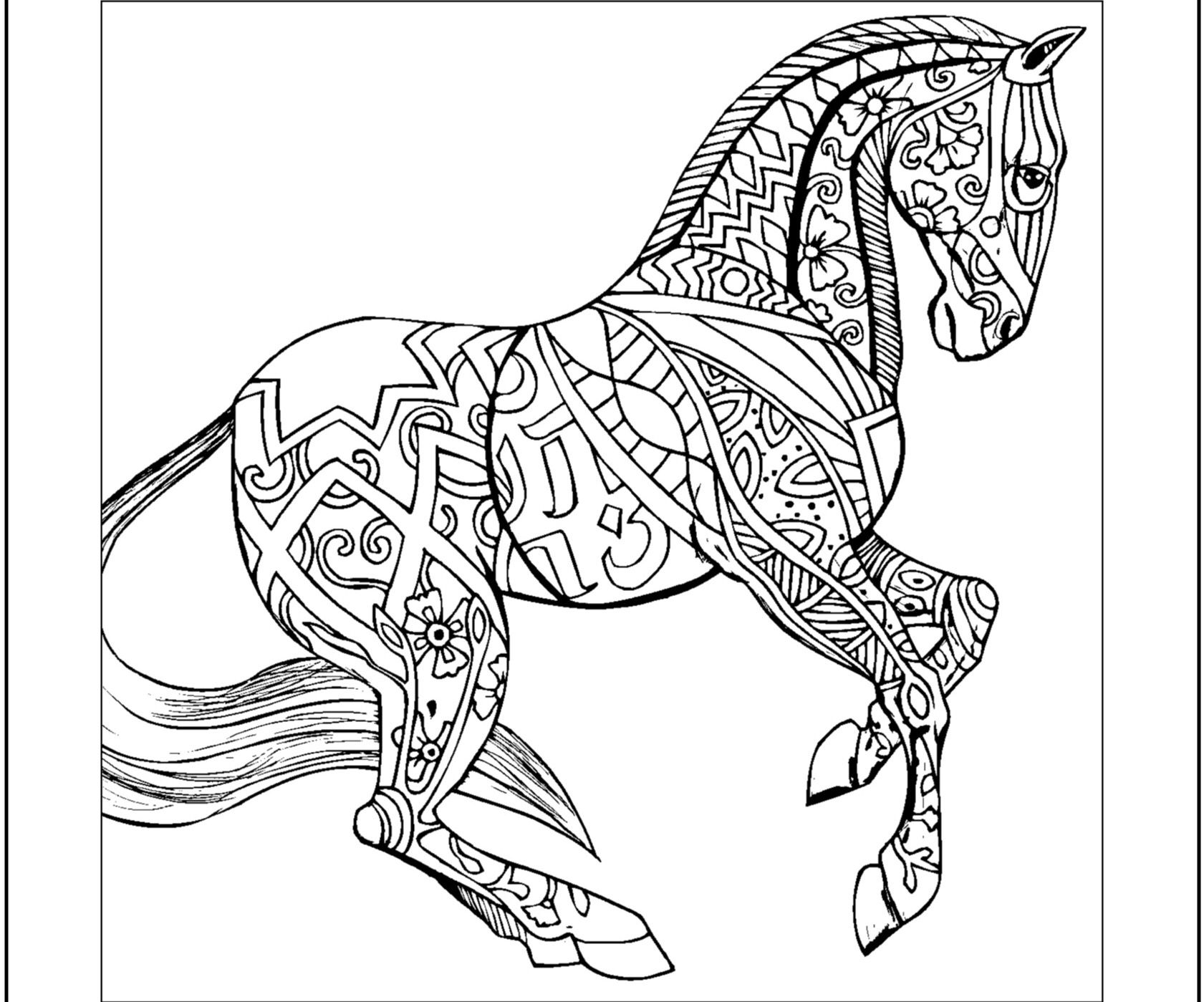 Cute Hard Coloring Pages At Getcolorings