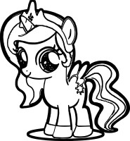 Cute My Little Pony Coloring Pages at GetColorings.com ...