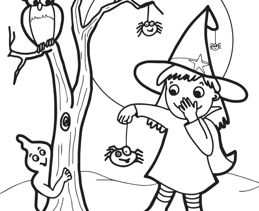 cute witch coloring pages at getcolorings  free