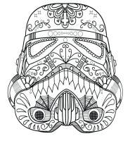 Darth Vader Mask Coloring Page at GetColorings.com   Free ...
