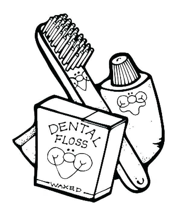 Dental Coloring Pages For Preschool at GetColorings.com