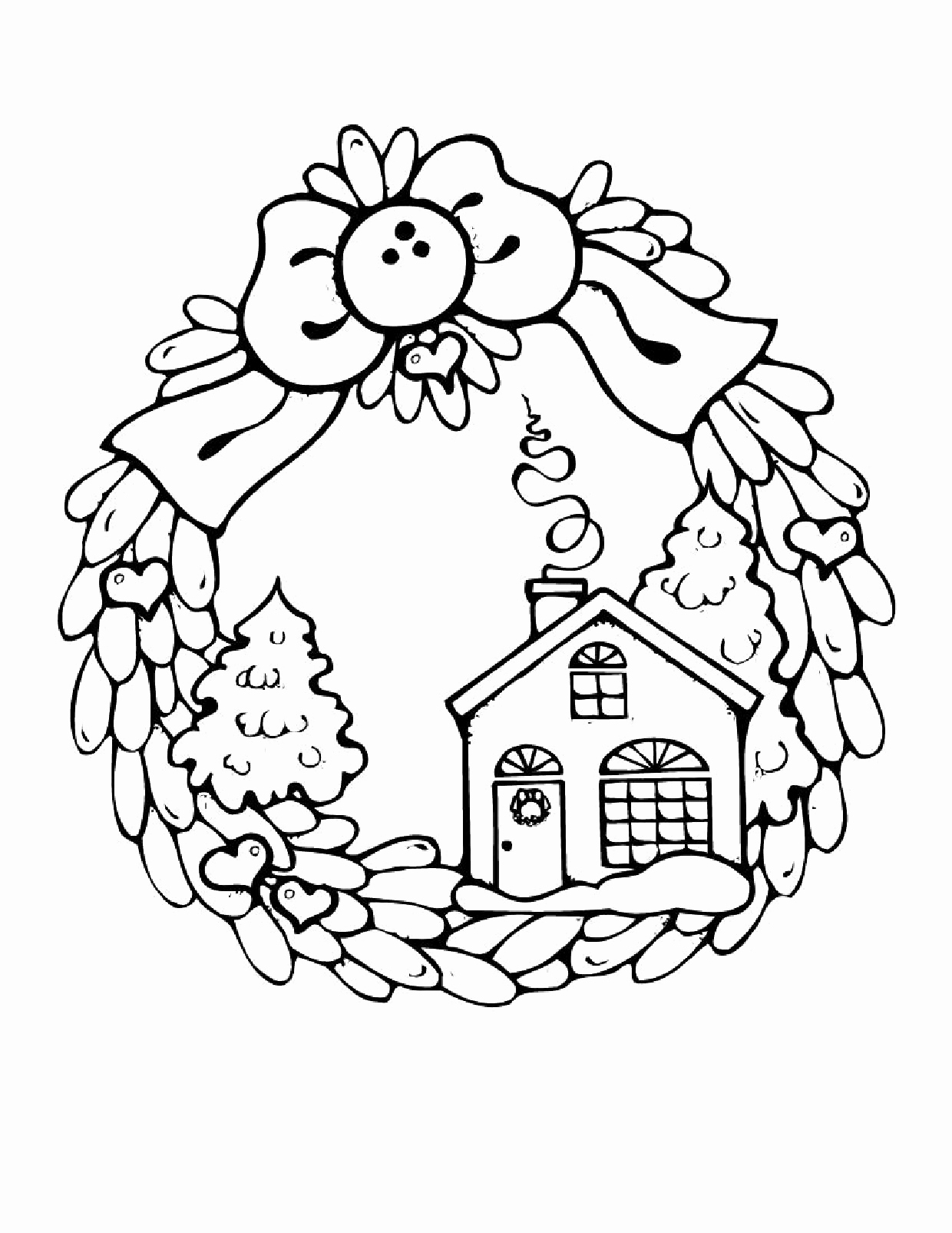 Detailed Winter Coloring Pages At Getcolorings